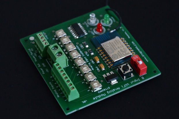 8 Channel Analog WiFi Module