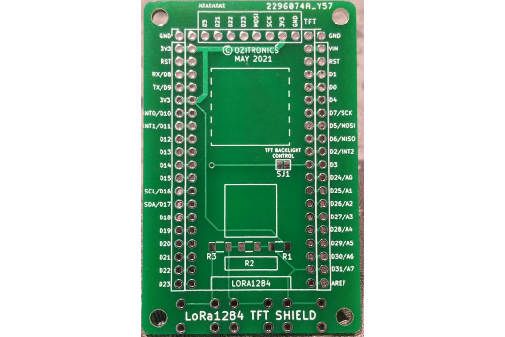 LoRa1284 TFT Shield 1
