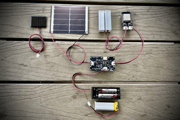 trigSolar - Ultra Low Power Solar Control Board