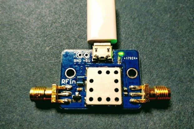 Ultra Low Noise Amplifier PGA-103 2GHz USB Cable