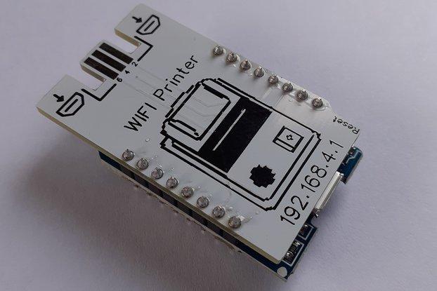 Camera WIFI Printer for Gameboy