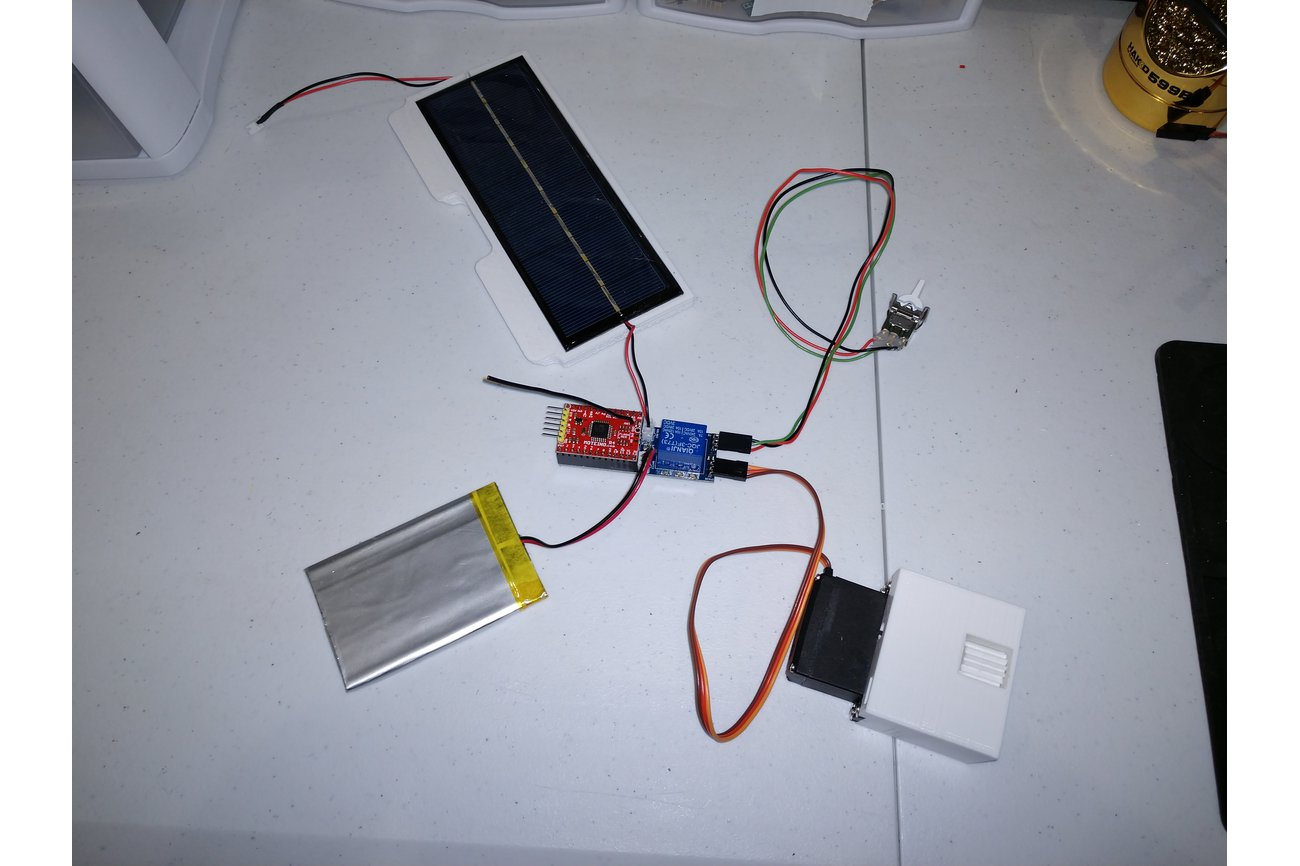 Blind Automation Moteino Shield with Solar Charger