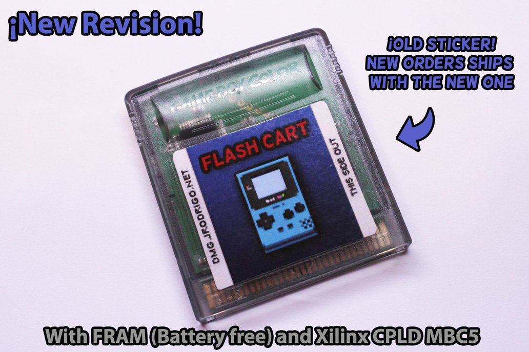 Flash Cartridge ( 2MB / 4MB ) for GameBoy 5