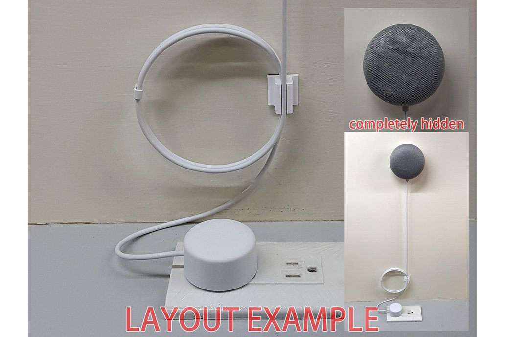 Wall Mount Holder for Google Home Mini 2