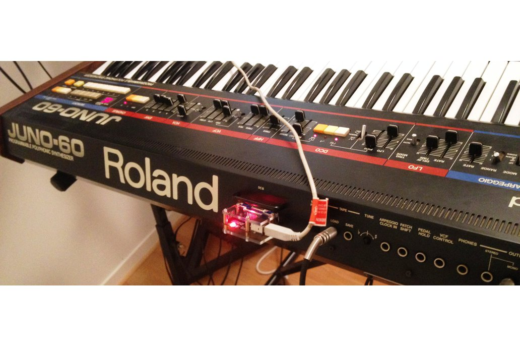 USB MIDI DCB adaptor for Roland Juno 60 2