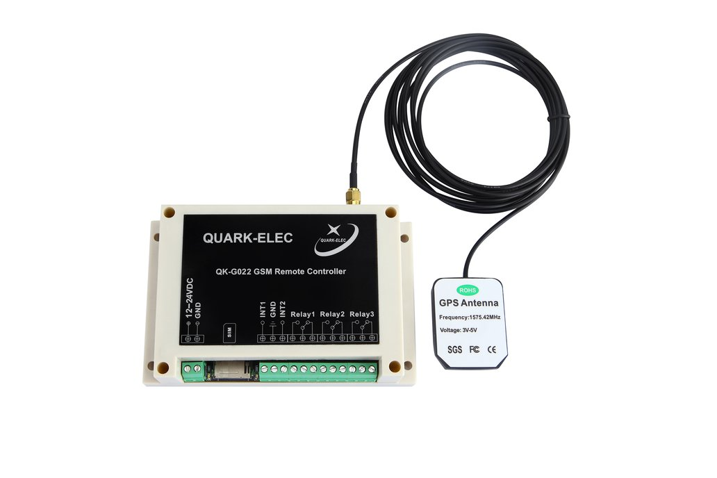 QK-G022G GSM SMS Remote control with GPS receiver 1