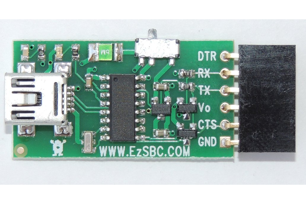 USB to Serial / UART  5V or 3.3V ($6.95) 1