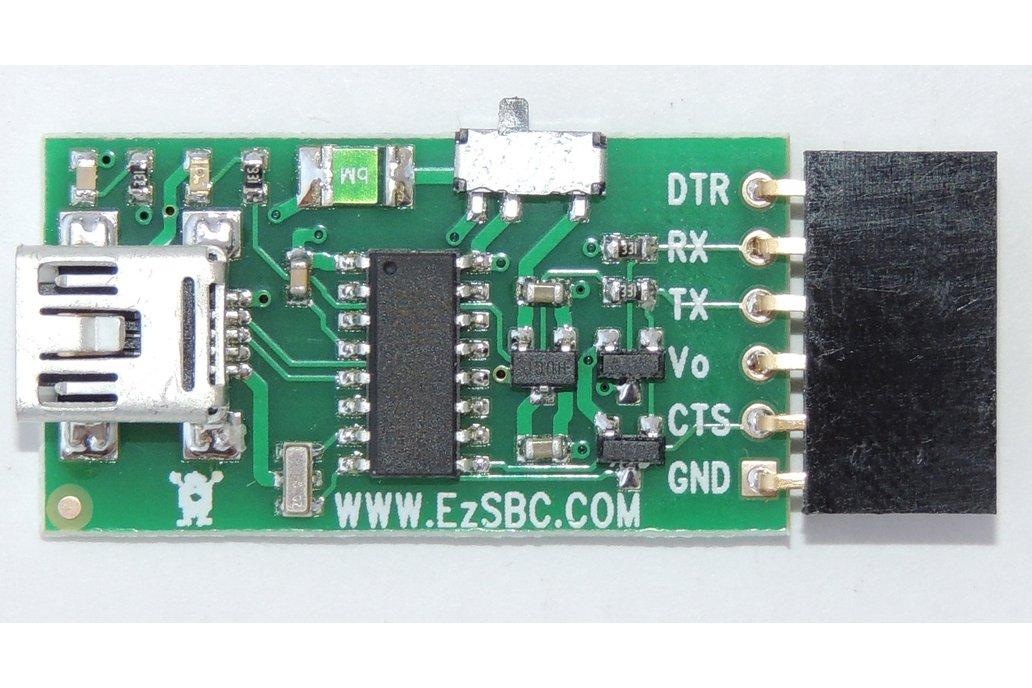 USB to Serial / UART  5V or 3.3V ($6.95) 1