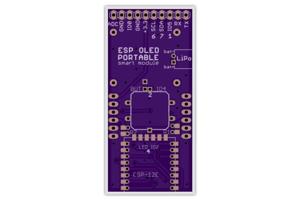 ESP8266 OLED LiPo battery breakout 1