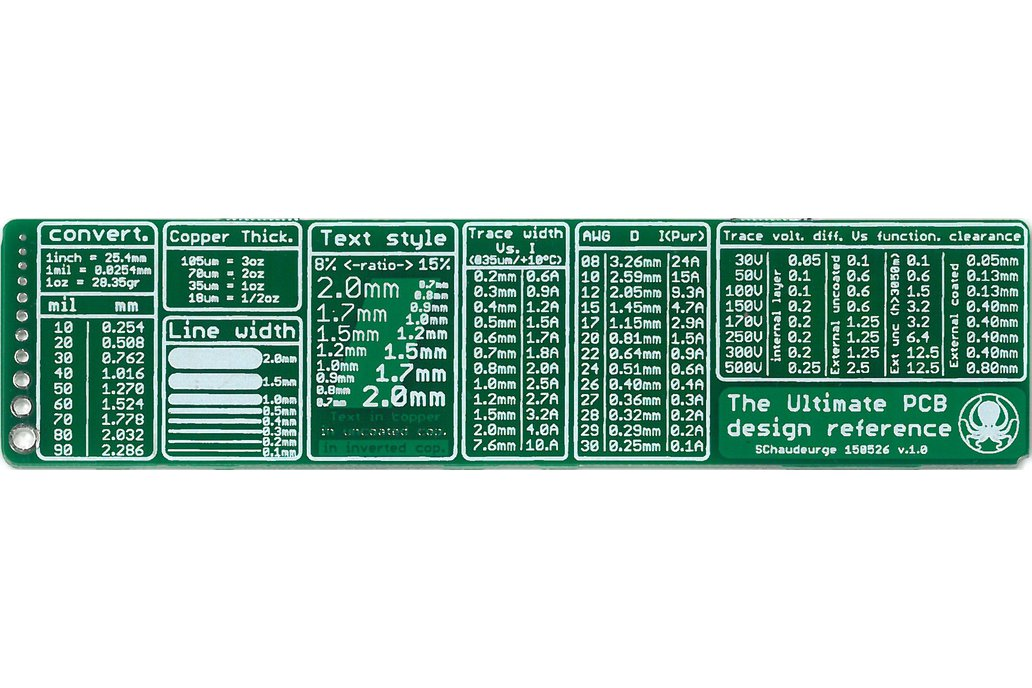The Ultimate PCB ruler 1