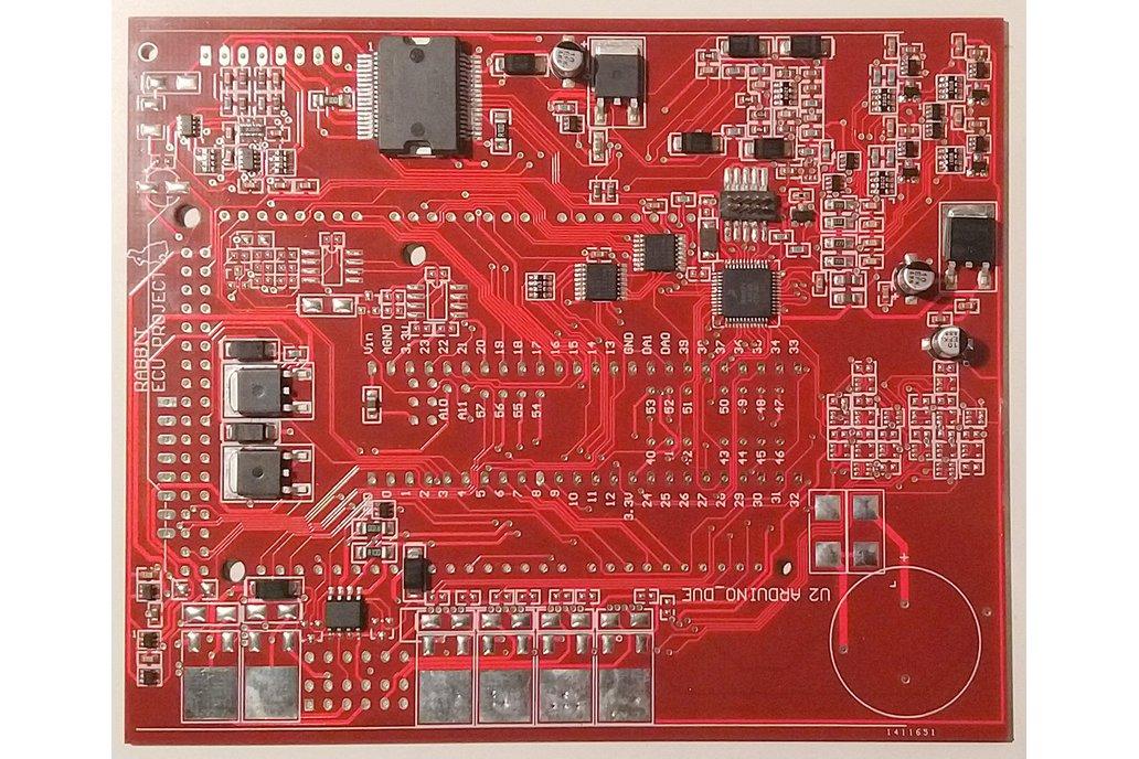 Sparkdog PF Teensy Extension PCB 1