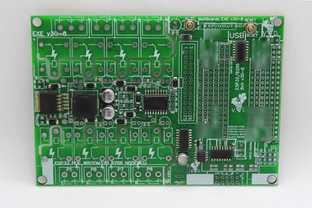 OCTAVE PCB for 8 Types ESP32 ESP8266