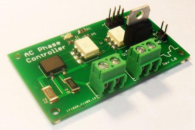 AC 60Hz/50Hz Dimmer Controller Board Arduino Compatible - Rev 1.1