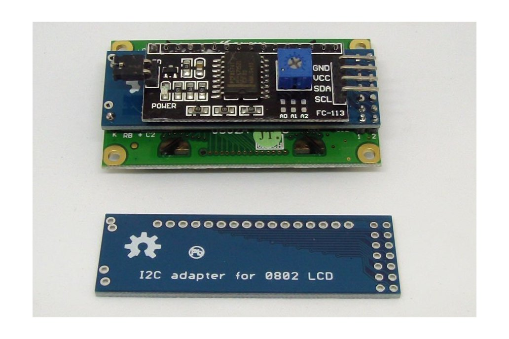 0802 LCD I2C Adapter 1