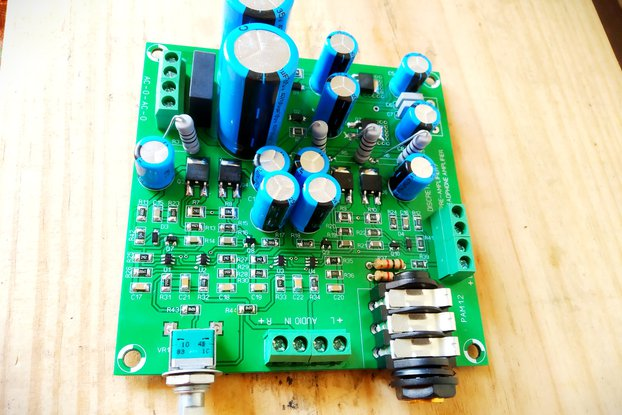 Discrete Dynamics DIY Class A Preamp/Headphone amp