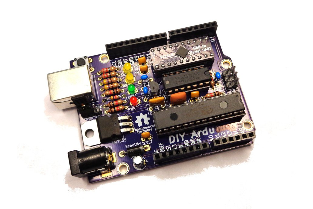 DIY Ardu (Arduino-Compatible Clone) 1
