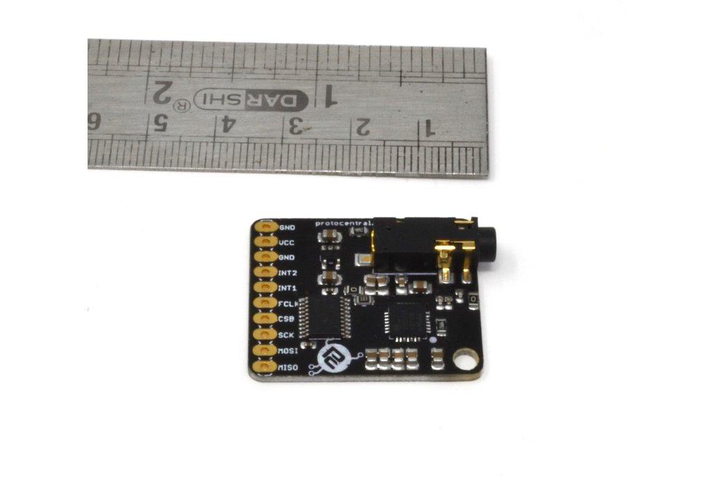 MAX30003 Single-lead ECG Breakout Board 5