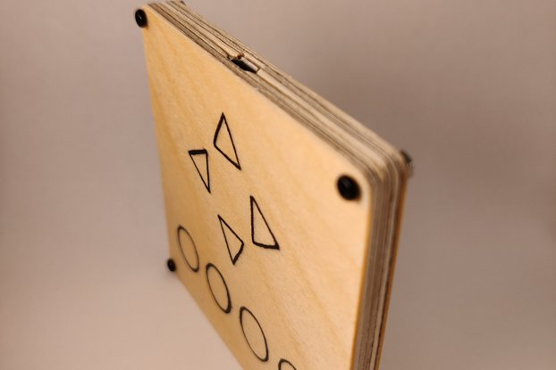 Wooden Touch USB Scroller, Touch browser