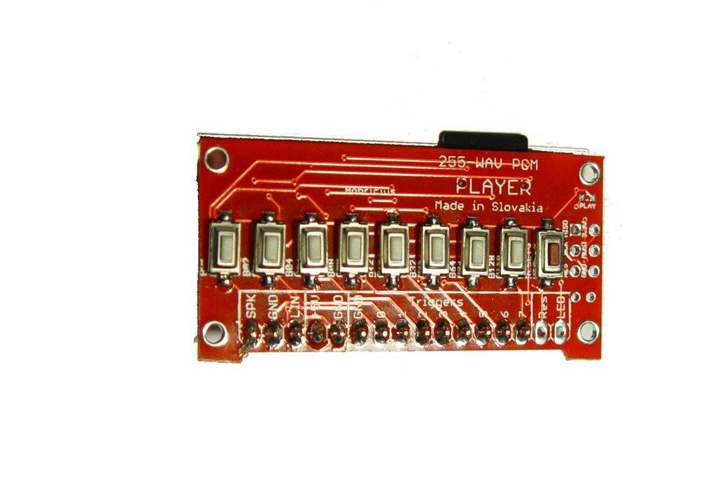255-Voice PCM Sound Generator, 8 triggers, 16bit 4