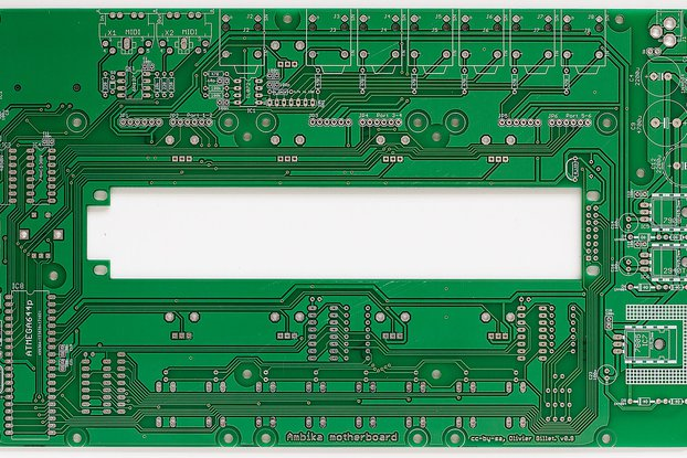 Ambika Digital Control Board PCB