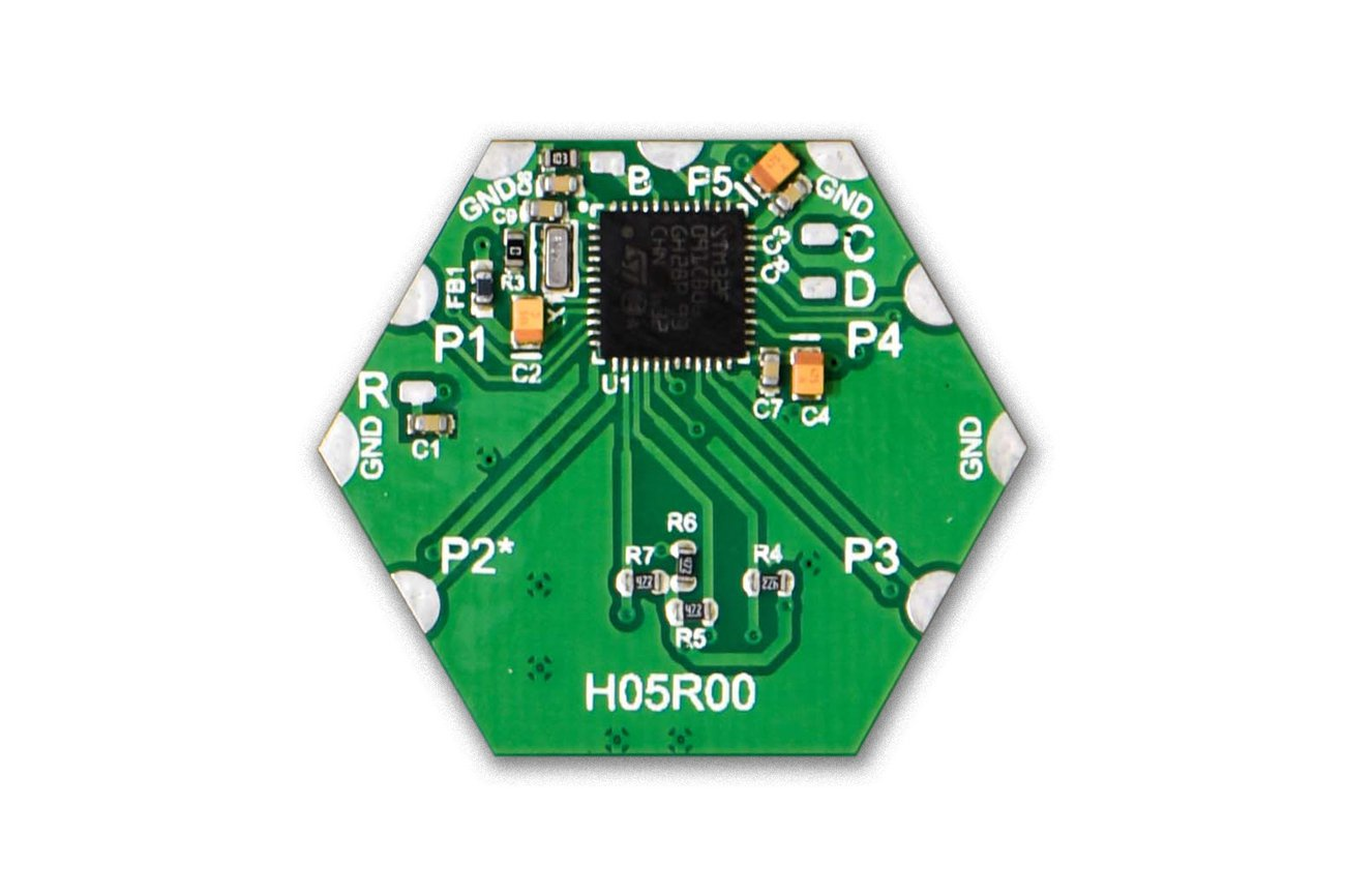 Micro-SD Memory Card Module (H05R00) from Hexabitz on Tindie