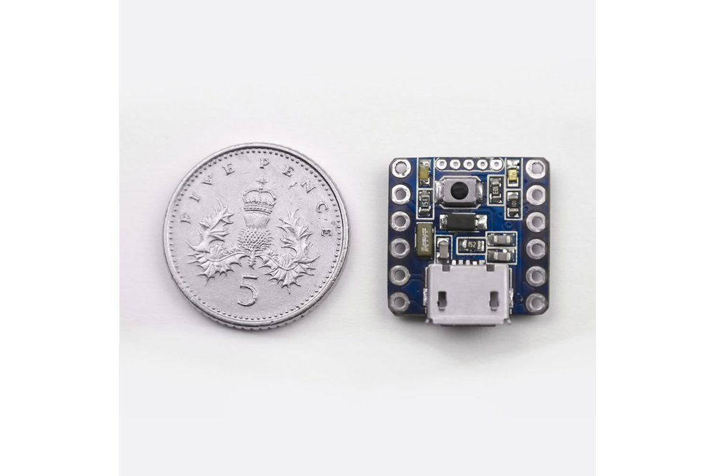 Nerdonic Exen Mini - Smallest 32Bit Dev Board 3