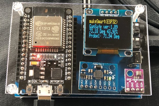 ESP32 Wifi Water Sensor/Temperature logger w/App
