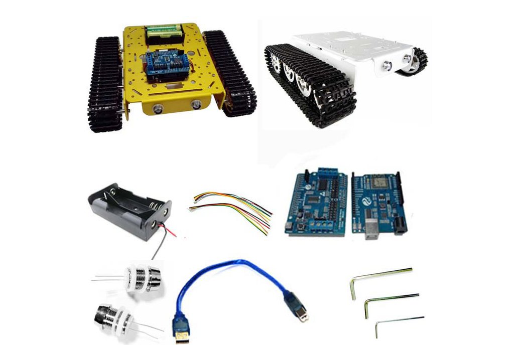 Arduino wireless wifi tank car kit 1