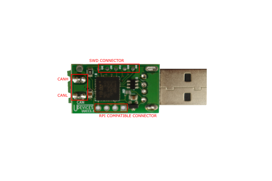 CAN USB converter (UCCB) 2