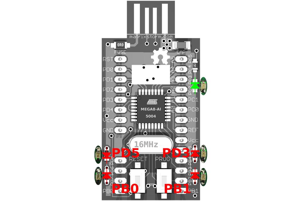 tinyUSBboard - Rev. 4 SMT  kit  3