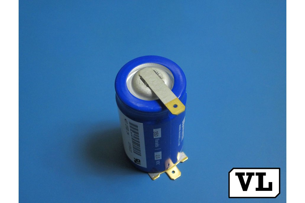 BOOSTCAP 350F 2.5VDC ULTRACAPACITOR supercapacitor 1