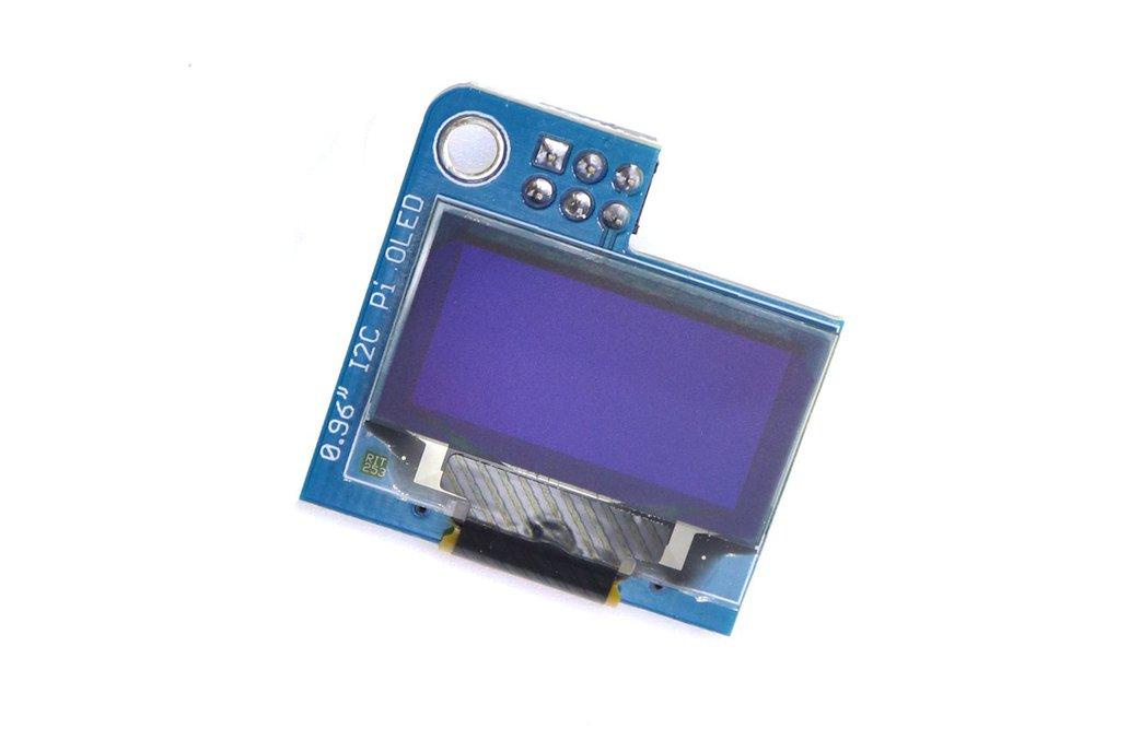 PiOLED - 128x64 0.96inch OLED for Raspberry Pi 1