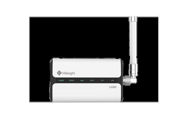 Milesight UG65 Industrial LoRaWAN Gateway for IoT