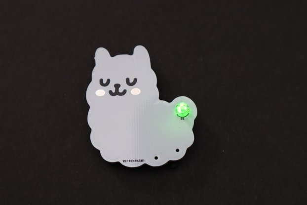 Alpaca Electronic Badge