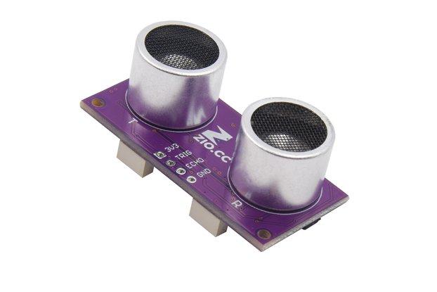 Zio Ultrasonic Distance Sensor (Qwiic, 2 to 400cm)