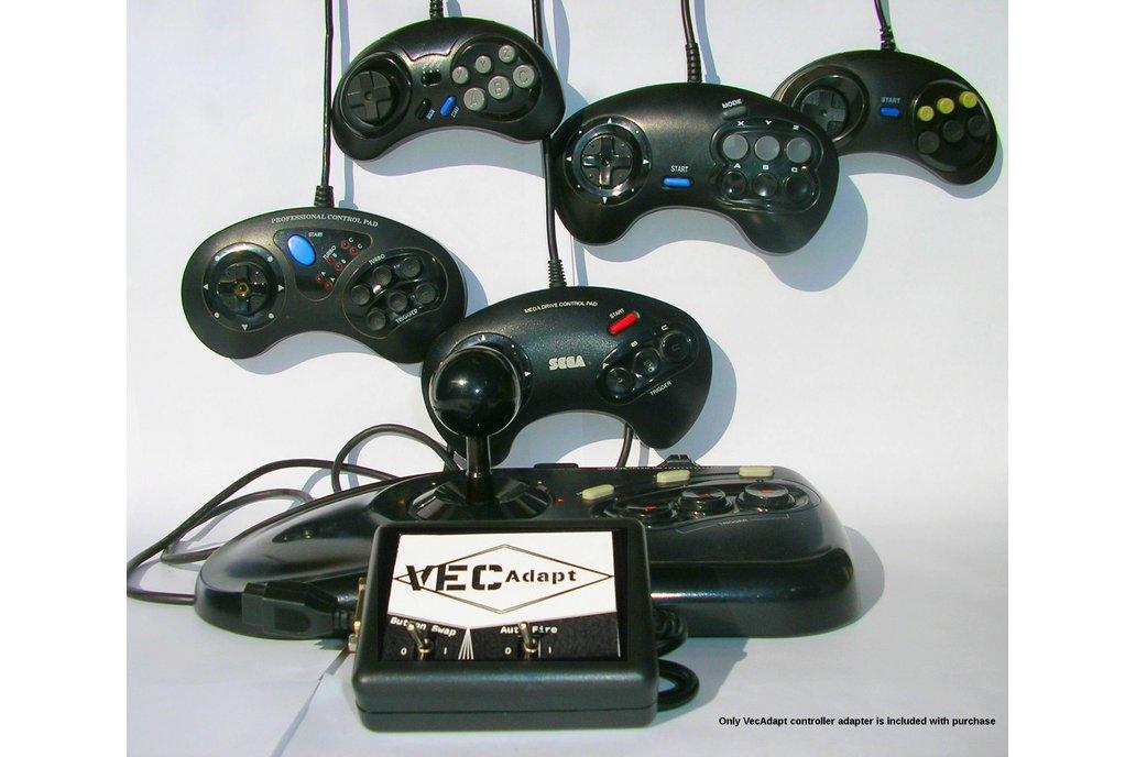 VecAdapt: Vectrex to Sega Controller Adapter 1