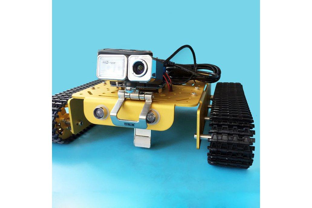 Video RC WIFI  Metal Robot Tank Chassis 1