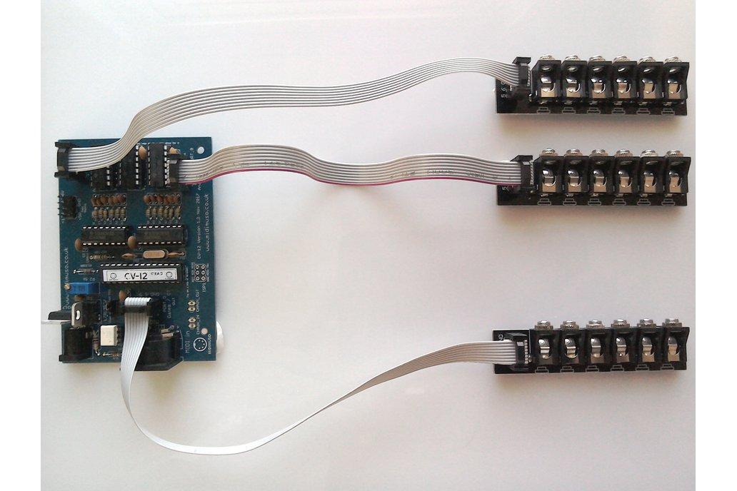 Sockets Midimuso CV-12 MIDI CV Converter Assembled 4