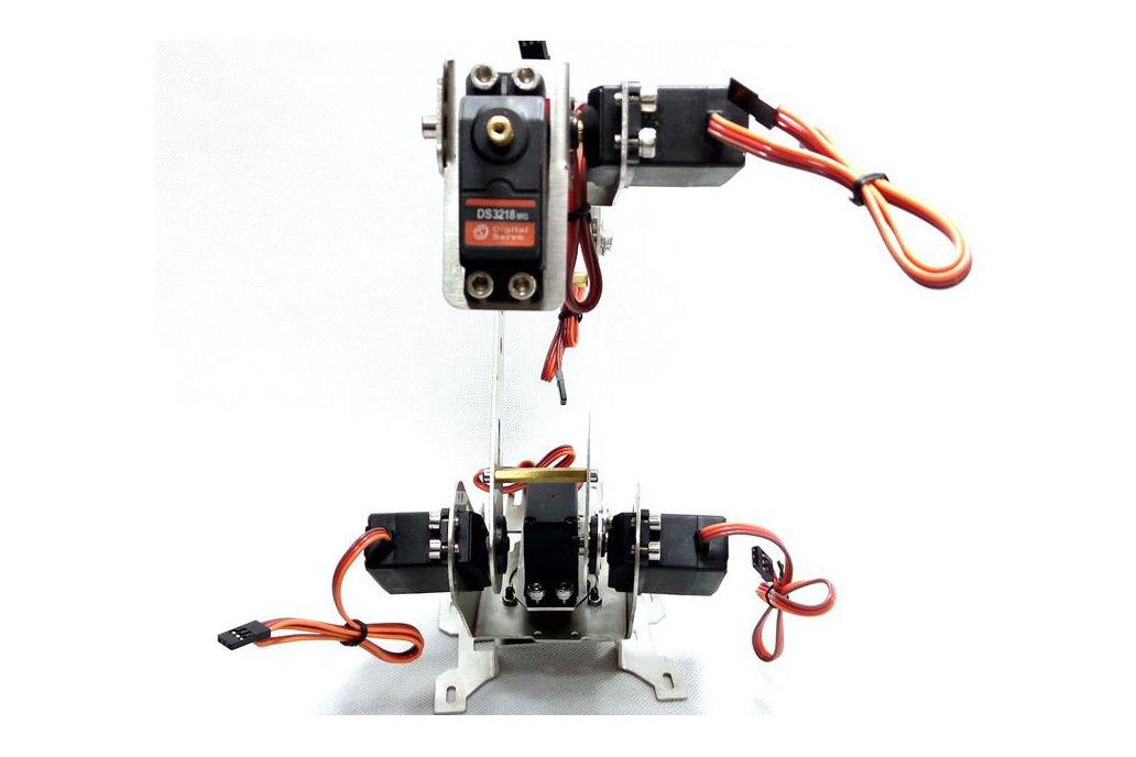 Stainless Steel 6 DoF Metal Robot Arm 1