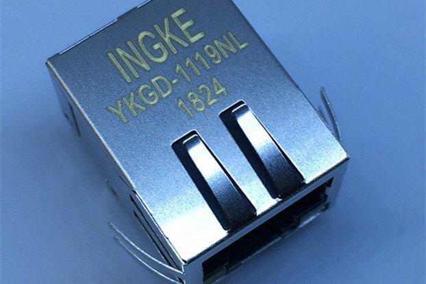 HFJ11-LGHRPE-L21RL Gigabit Magnetics RJ45 Jacks