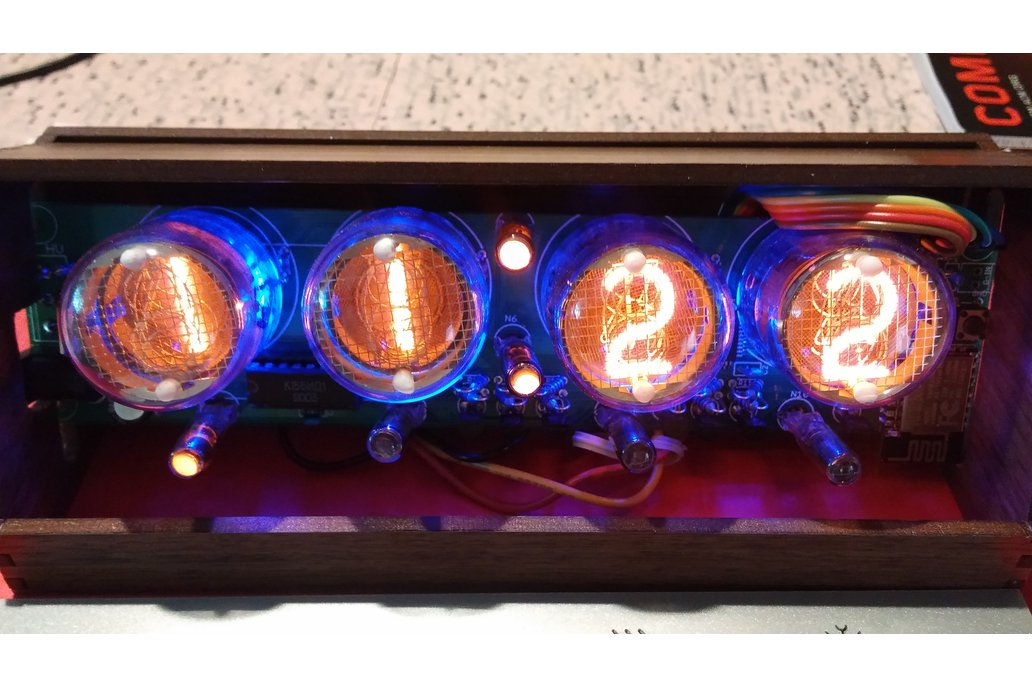 IoT Nixie Weather Clock 4