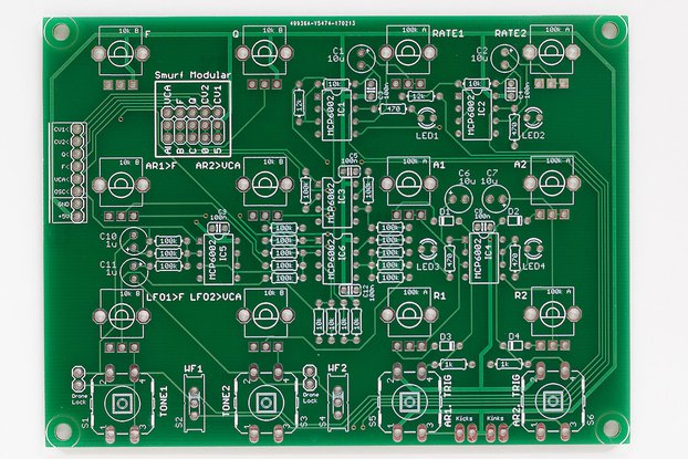 Shruthi Sidekick PCB