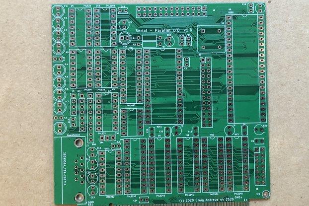 SBC-85 SPIO (Serial-Parallel I/O)
