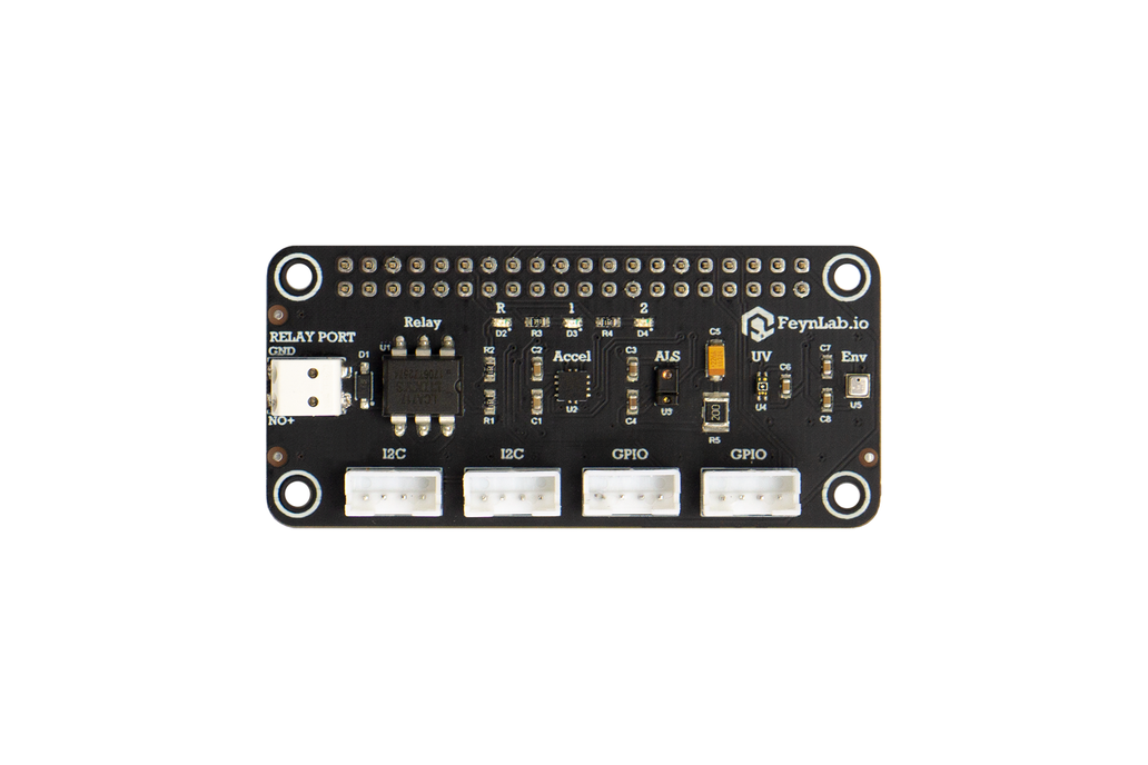 FeynLab Sensor Shield for Raspberry Pi 1