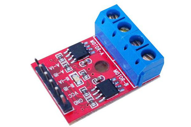 2pc DC/Stepper Motor Driver