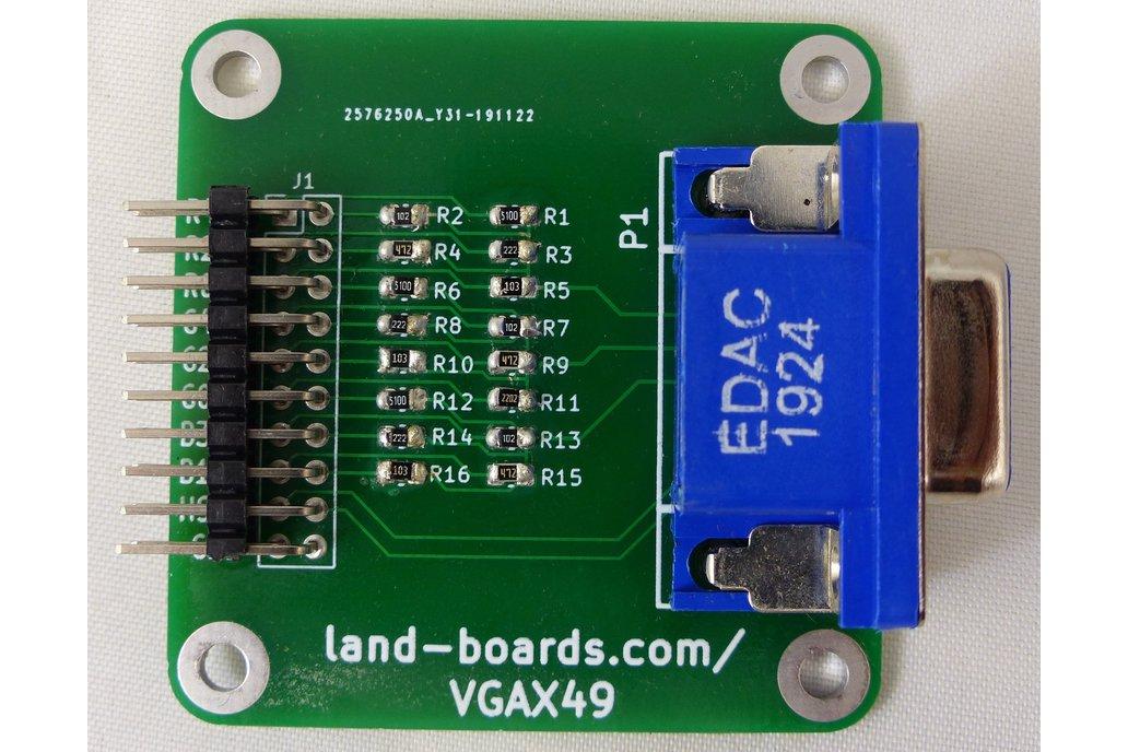 VGA Adapter (PCB Only) (VGAX49) 1