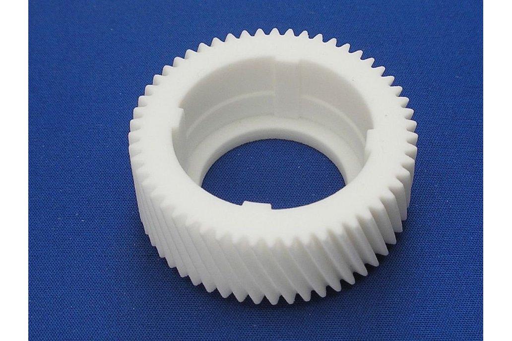 Yamaha PW-X and PW-X2 nylon gearwheel repair 1