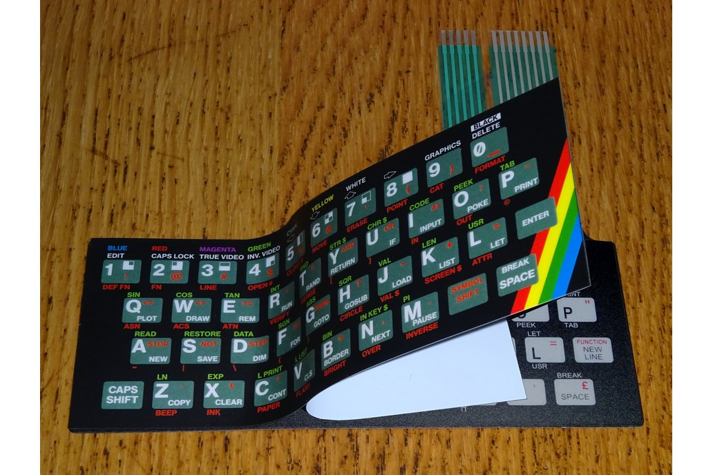 Keyboard Overlays for ZX Max 48 4