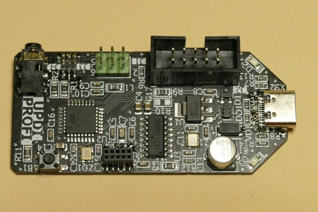 UPDI Flash Tool for Atmel/Microchip MCUs