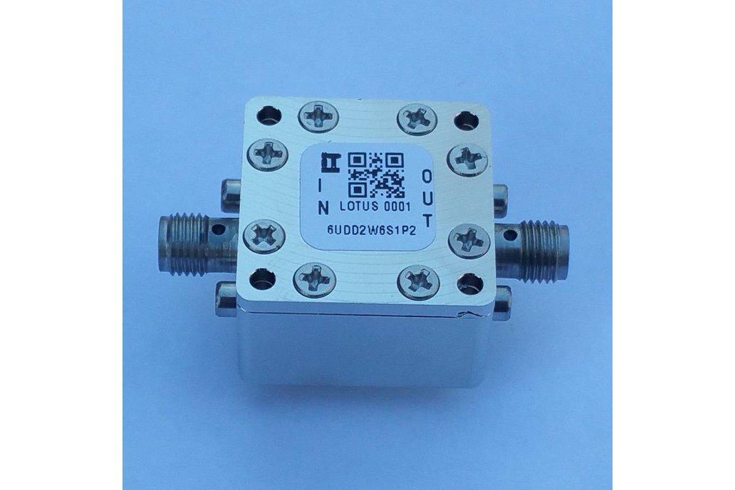 """Encl. Kit for 20mil/0.5mm PCB 9/16"""" Square (Pass.) 1"""
